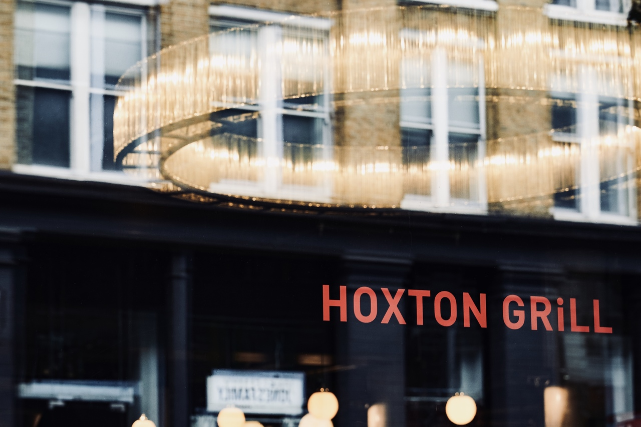 Exterior of Hoxton Grill